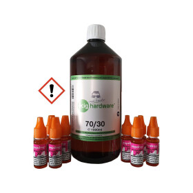 ecig Tank Fog VPG 70/30 2.76mg Bundle